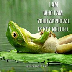 Inspirational Quote: I am Who I am..