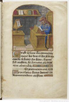 Le Secret des secrets . — Alain Chartier, Le Bréviaire des nobles  BNF