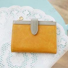 Lady PU Leather Card Holder Clutch Wallet Handbag Purse Bag for iPhone 4 4S | eBay