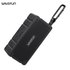 Wavefun Waterproof Dustproof Bluetooth Portable Speaker For Outdoor With NFC TF Card Supported Wireless Speakers, Bluetooth, Portable Speakers, Speaker Price, Baby Tech, Audio Crossover, Loudspeaker Enclosure, Outdoor Speakers, Gaming Accessories