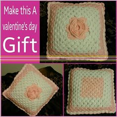 """I can take special orders Crochet pink pillow. . 16""""..  Brand new. . Handmade by me. . .  Price 40.00$ + shipping n handling. .  I can take orders. . Other"""