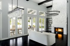 Over the past year, Jenner worked with designer Jeff Andrews to personalize the mansion to match her own style and design taste.