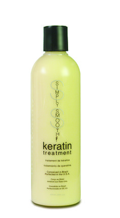 Simply Smooth keratin treatment (original formula) is a botanically blended keratin smoothing system that has a cumulative effect on the hair. It reduces texture and will last for up to 12 weeks. May be used over all chemical treatments including color, highlights and relaxers to enhance them.