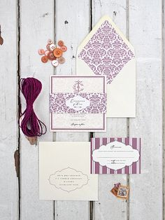 Magnolia Rouge: Invitations by Ruby & Willow
