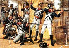 1815 Waterloo, the Young Guard at Plancenoit - Richard Hook