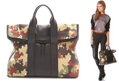 We're Falling for This Trend: Military-Themed Bags!