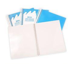 Mini Wipebook Notebook.