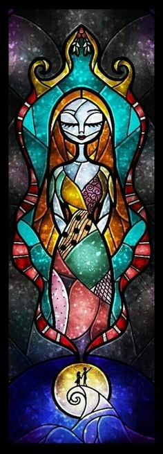Sally Stained Glass
