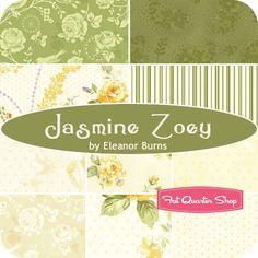 Jasmine Zoey Fat Quarter Bundle Eleanor Burns for Benartex Fabrics - Benartex Fabrics | Fat Quarter Shop