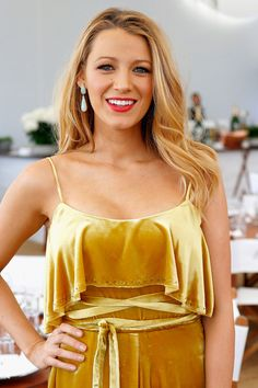 """VOGUE.CO.UK on Twitter: """"Blake Lively talks beauty, style, fame and the #Cannes red carpet  Pinterest: KarinaCamerino"""