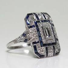 Art Deco Jewelry, Fine Jewelry, Women Jewelry, Stylish Jewelry, Jewelry Ideas, Fashion Jewelry, Jewelry Making, Deco Engagement Ring, Wedding Engagement