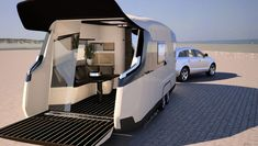 Yacht-Inspired Caravisio—The RV of the Future