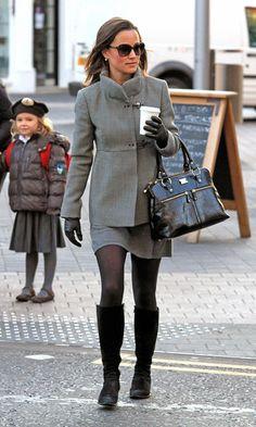 Pippa Middleton Photos - Pippa Middleton Goes to Work - Zimbio