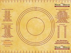 Pastry Mat (18x24.5-in.): Tuscan by Magic Dough at Food Network Store