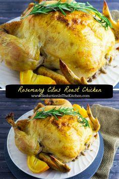 Rosemary Citrus Roast Chicken