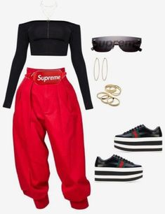 Fashion Outfits Casual Crop Tops Super Ideas - Tips de moda - Cute Swag Outfits, Kpop Outfits, Casual Fall Outfits, Mode Outfits, Stylish Outfits, Summer Outfits, Girl Outfits, Fashion Outfits, Fashion Trends