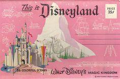 Vintage Disney Postcard