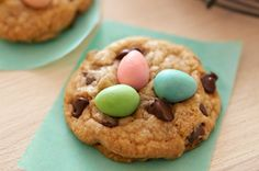 This is our classic chocolate chip cookie recipe with a seasonal twist!  Bake up a batch of our BAKER'S Easter Chocolate Chip Cookies to celebrate the holiday.