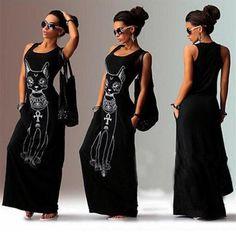 Long Maxi Dress 2017