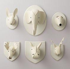 Wool Felt Animal Heads