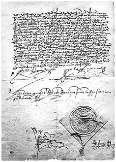 The Alhambra Decree was issued March 31, 1492 by the joint Catholic Monarchs of Spain Isabella and Ferdinand. The decree ordered the expulsion of Jews from Spain by 31 July of that year unless they converted to Catholicism.