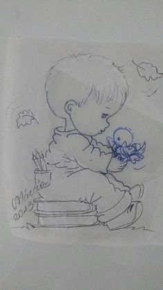 Adult Coloring, Coloring Pages, Mickey Mouse Cake, Baby Drawing, Art Sketches, Pencil Drawings, Embroidery Patterns, Projects To Try, Quilts