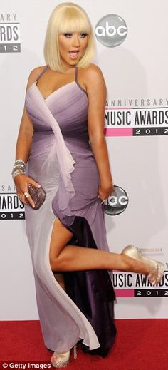 Worst Dressed of American Music Awards 2012 - #ChristinaAguilera