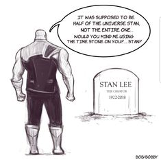 Thanos e Stan Lee - - Thanos e Stan Lee - # . - Thanos e Stan Lee – – Thanos e Stan Lee – – Best Pic - Marvel Avengers, Marvel Comics, Marvel Jokes, Captain Marvel, Funny Marvel Memes, Dc Memes, Avengers Memes, Marvel Heroes, Thanos Marvel