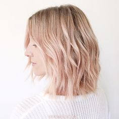 Hot or not: 'washed out' roze balayage – NSMBL