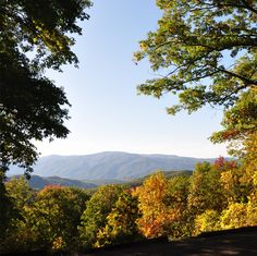 Autumn in the Smoky Mountains is something every one should experience.