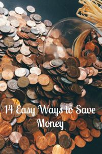 14 easy ways to save money without losing your mind....