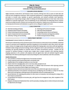 Sample Resume For Retail Management Job Retail Store