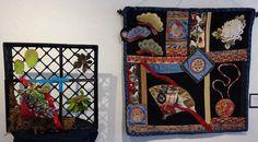 Susan Ludwig Fiber Arts, Art in Bloom,  Spanish Village Art Center