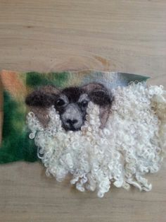 the swap I have got from Vicky lovely curly sheep!♡
