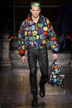 Moschino, Fall 2016 Menswear