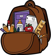 Clip art on fall clip art school backpacks and clip First Day Of School, School Days, Back To School, School Clipart, Clip Art, Digi Stamps, Cartoon Kids, School Backpacks, Print And Cut