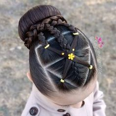 Cute Girls Hairstyles, Hairstyles Haircuts, Braided Hairstyles, Toddler Hairstyles, Blorange Hair, Hair Boost, Girl Hair Dos, Quinceanera Hairstyles, Dyed Hair