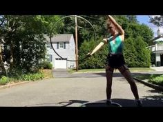 Pity party pixie pants hoop dance - YouTube... love the song and she has some great breaks and fast moves.