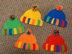 Fun with Friends at Storytime: Dressed for Winter! Snow Theme, Winter Theme, Hat Crafts, Clothes Crafts, Toddler Crafts, Crafts For Kids, Arts And Crafts, Clothing Themes, Felt Stories