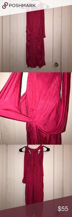 Vintage BCBG MAXAZARIA dress Vintage pink silk BCBG MAXAZARIA dress Dresses Mini