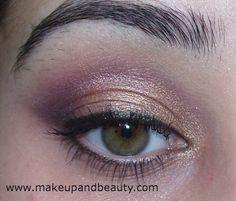 Golden Brown Eye Makeup Tutorial