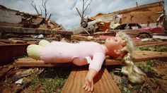 A child's doll sits among the ruins of homes badly damaged in April 27's deadly  tornados in Tuscaloosa, Alabama May 2, 2011. Federal officials have vowed urgent support for a region devastated by the deadliest U.S. natural disaster since Hurricane Katrina,