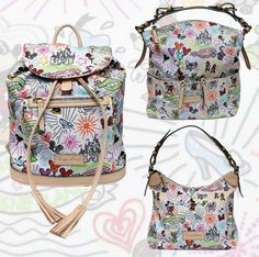 New Dooney & Bourke Items Releasing on July 14 at Walt Disney World Resort.  I would love that backpack!