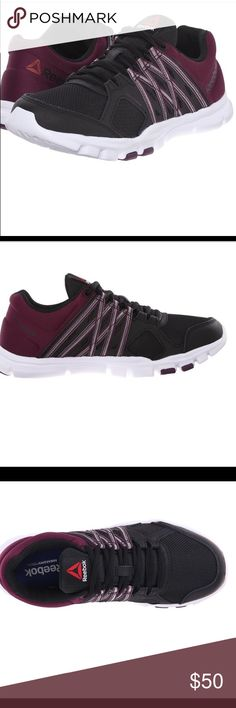 Reebok women yourflex training shoes. flex the way you want to with this Endurance Collection training shoe that comes complete with UltraLite technology and a sleet silhouette to keep things flexible. Memory tech insoles. Open box.  New without tags. Reebok Shoes Sneakers