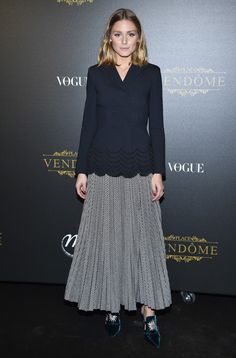 Olivia Palermo At Irving Penn Exhibition