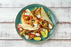 Celebrate taco Tuesday any day of the week with these crowd-pleasers. There's a bit of heat thanks to our unique southwest spice blend, a kick of tang from the lime crema, and a pop of color with the addition of sweet corn and succulent tomatoes. It's an unbeatable combination.