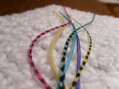 Hair Feather Extension Long Grizzly Kit by SolDoggie on Etsy, $16.95