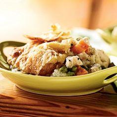 Chicken and Root Vegetable Potpie