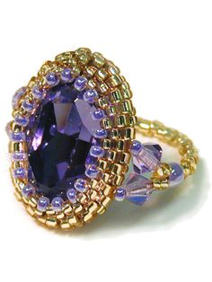 Tanzanite Crystal Ring Kit
