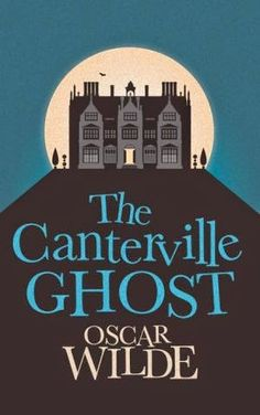The Canterville Ghost by Oscar Wilde.  Read a review about this amusing short story at  http://readinginthegarden.blogspot.com/2014/10/the-canterville-ghost-by-oscar-wilde.html